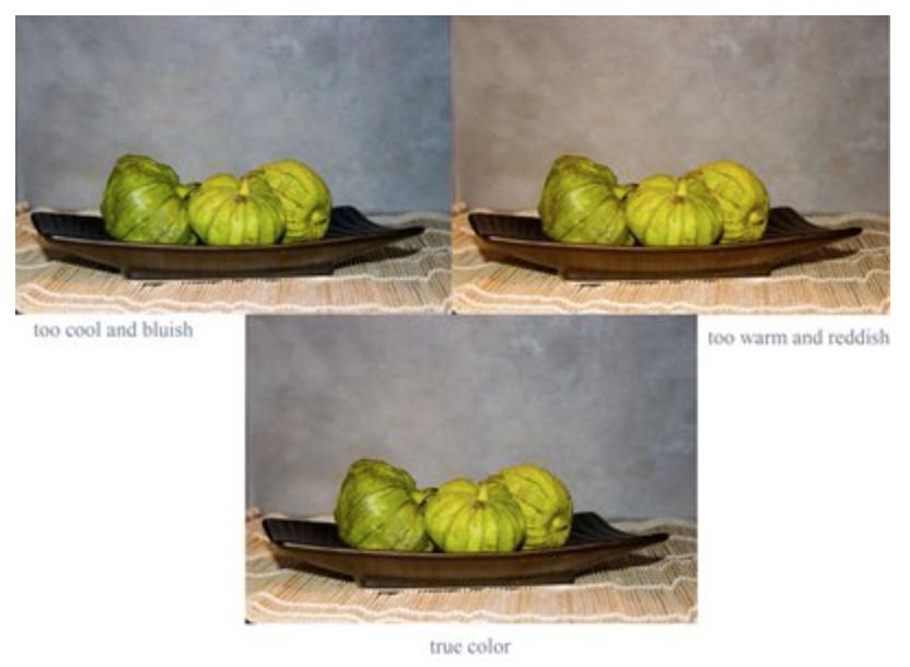 Color adjusting of same image