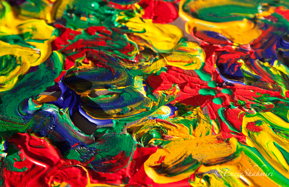 Detail of Color Explosion