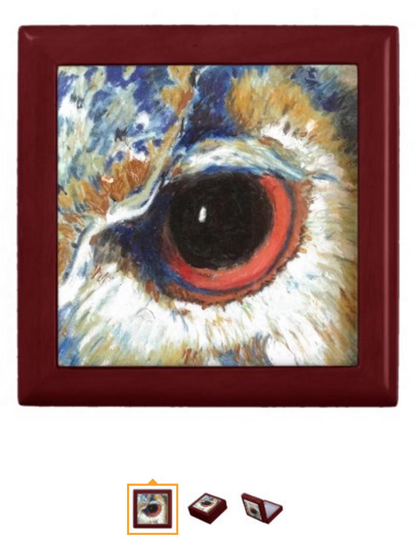 Owl Collector Box