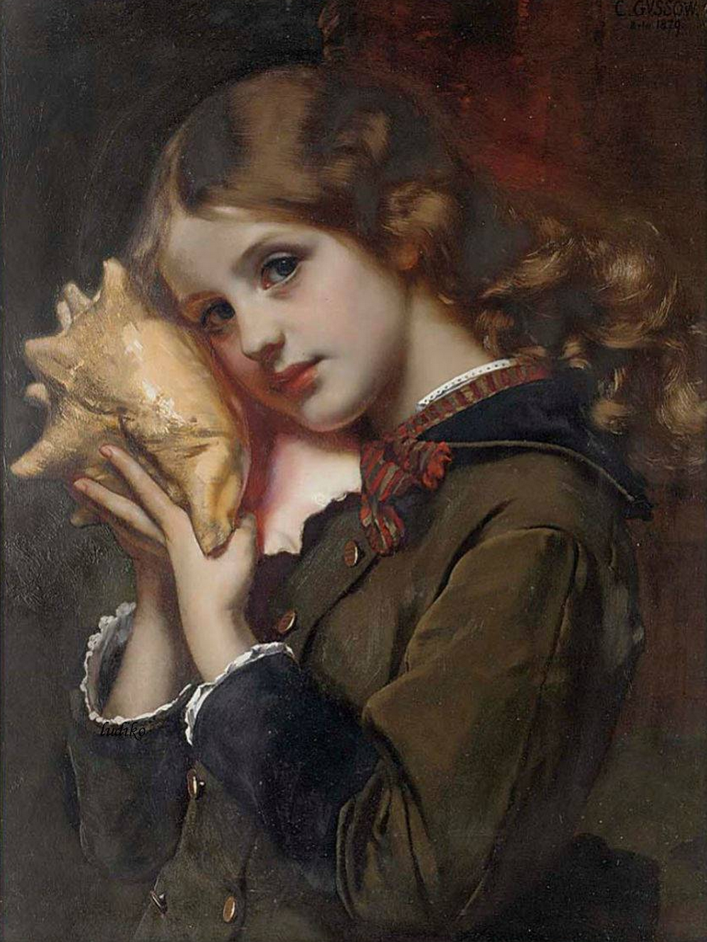 Sound of the Sea by Karl Gussow