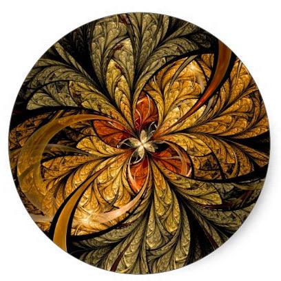 Shining Leaf by Fractal Art