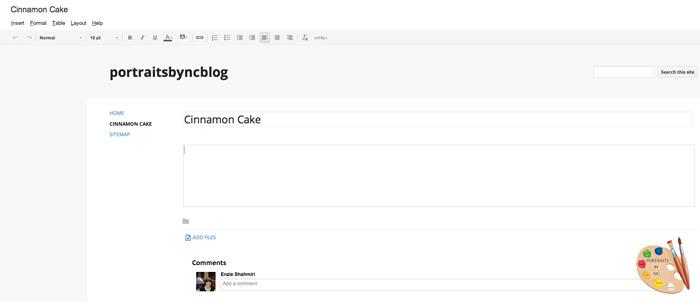 Blank Printable Recipe Page