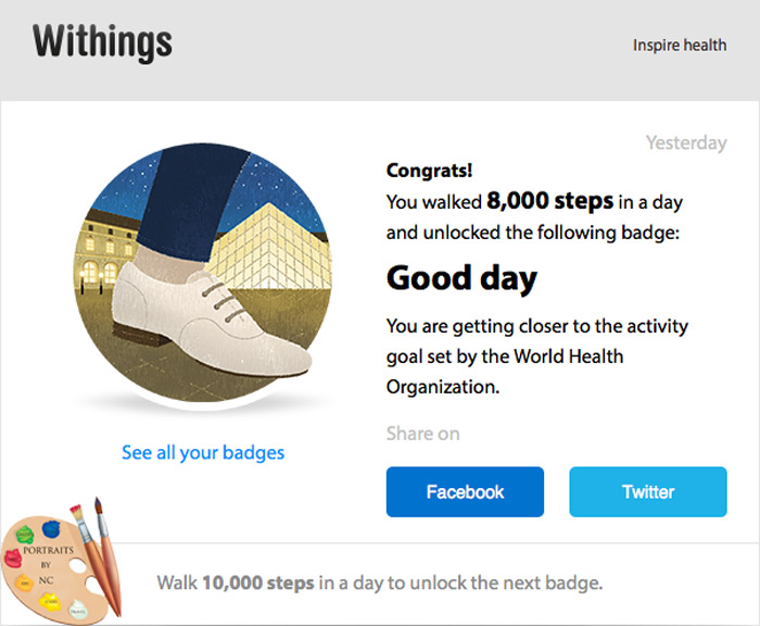 Withings Badges