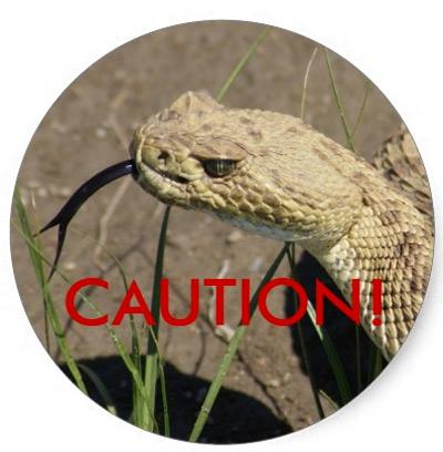 rattle-snake-caution