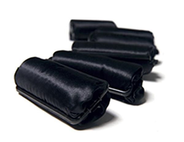 Black Silk Rollers