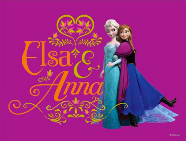 Elsa and Anna Postcards