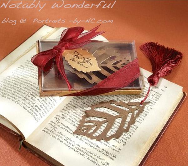 Turning Leaves Bookmark