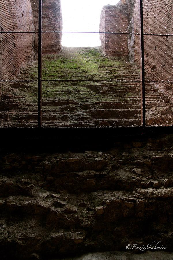 Ancient steps leading upwards