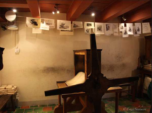 Rembrandt's Etching Room