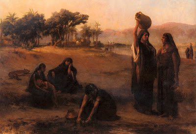 Women Drawing Water from Nile