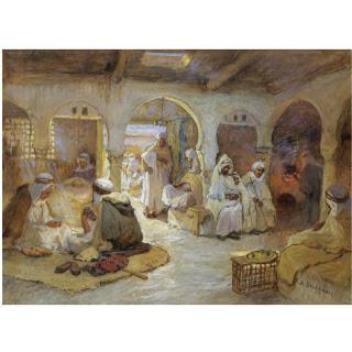A Coffehouse in Algeria