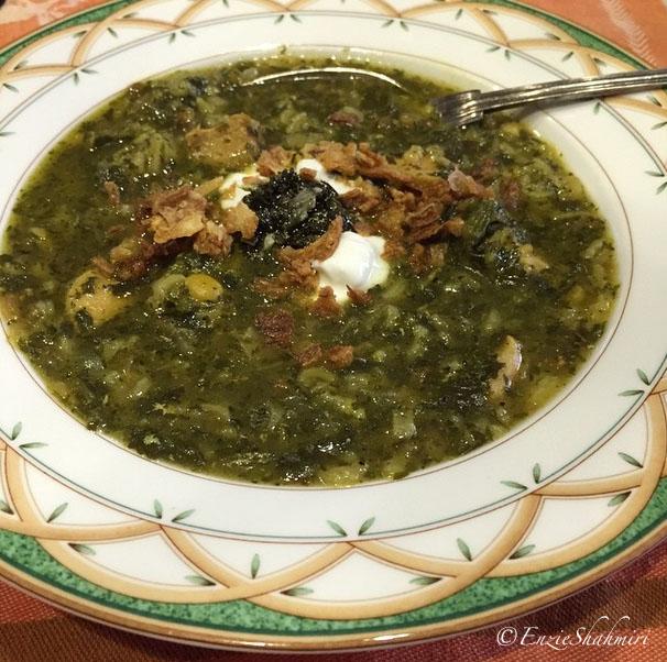 Ash-e Anar Persian Pomegranate Soup