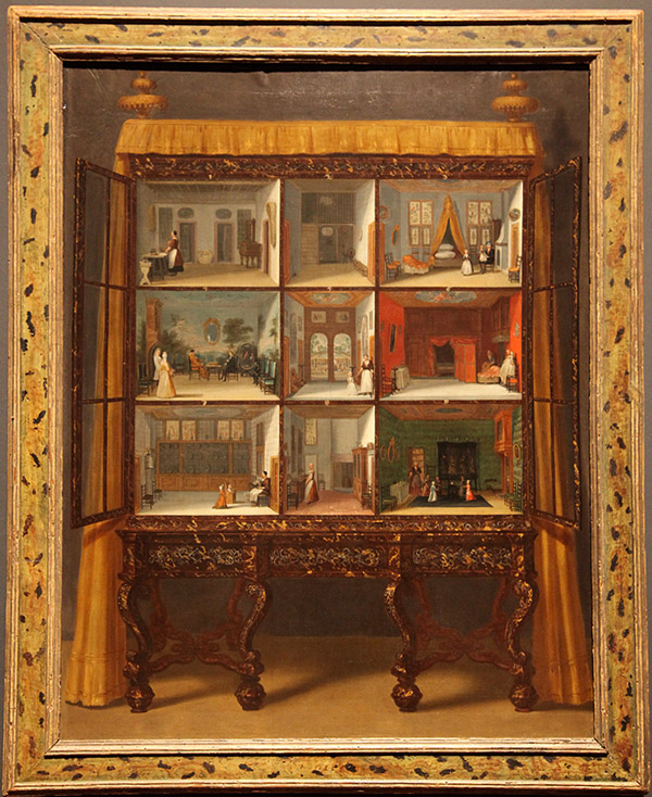 Custom Painting of Petronella's Doll House