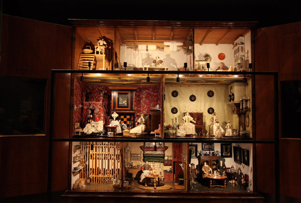 These miniature homes often showed rooms that guest would not visit.