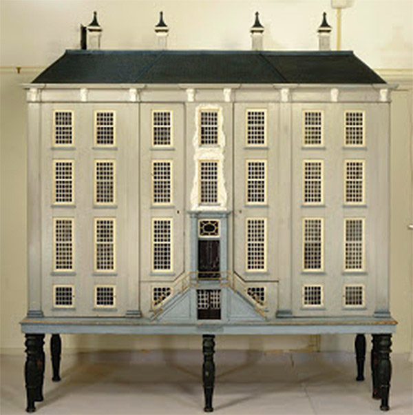 Exterior of a Dutch Doll House