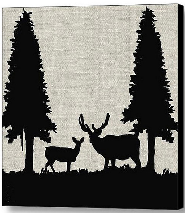 Deer in Forest Available Here
