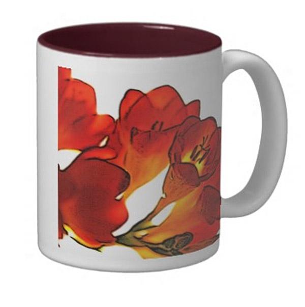 Freesia Mug