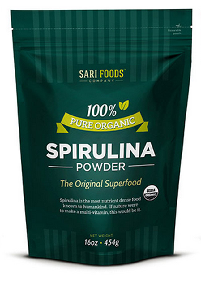 Spirulina from Sari Foods