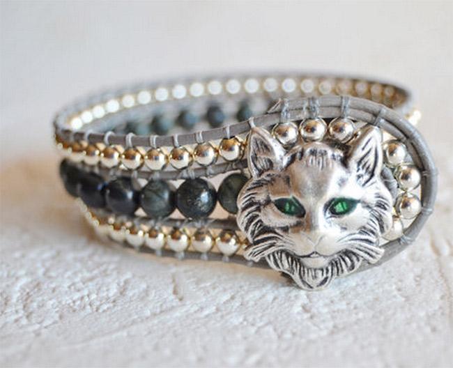 Bohemian Cat Bracelet