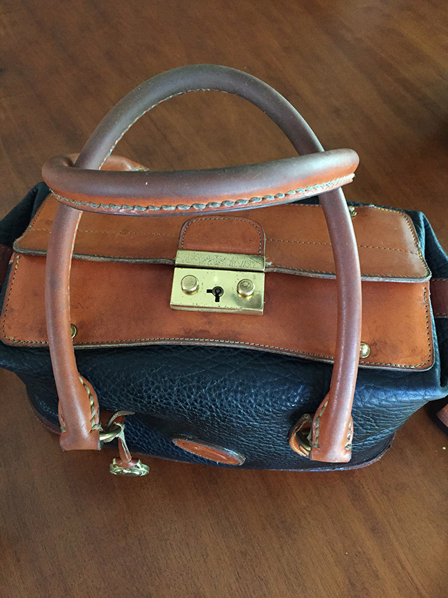 Vintage dirty Dooney and Bourke Bag