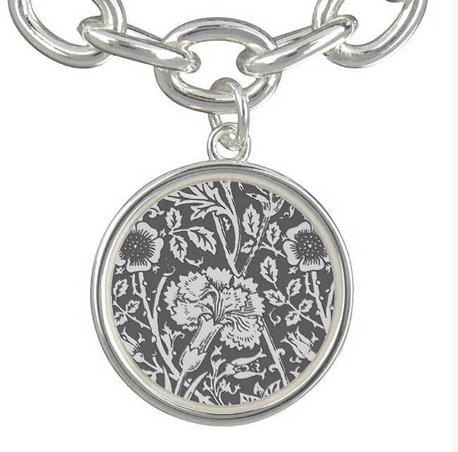 Carnation Charm Bracelet