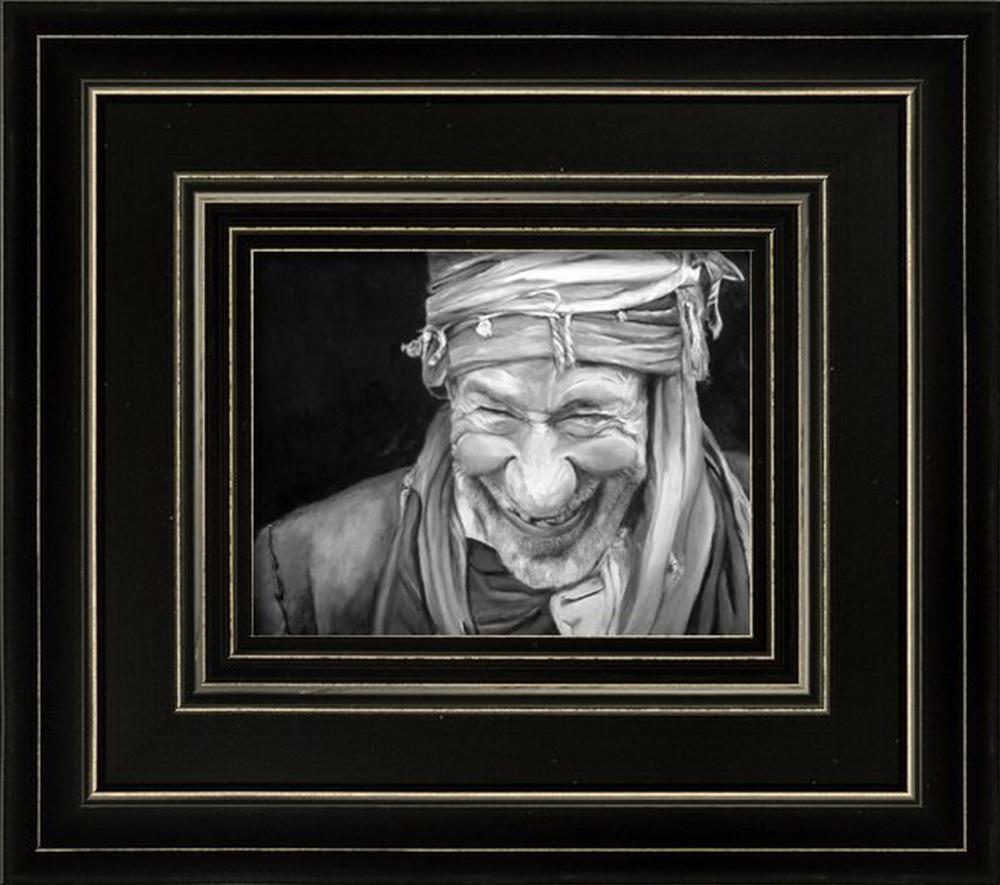 Iranian Man by Enzie Shahmiri in Cull4 Frame
