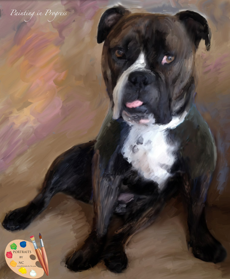 English-Bulldog-Rough-Sketch