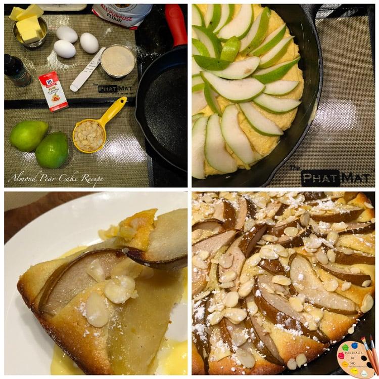 Almond Pear Cake Recipe