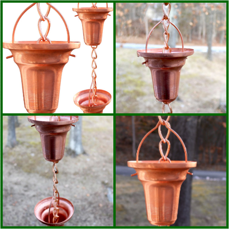 #Sponsored by Marrgon's Golden Canary Copper Rain Chain