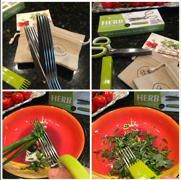 #Chefast Herb Scissors