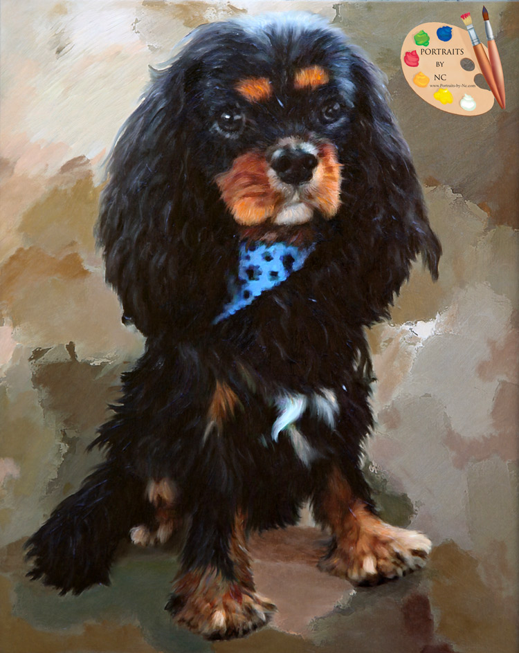 Cavalier King Charles Portrait-by-NC.com