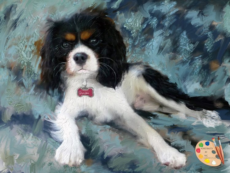 King Charles Portraits-by-NC