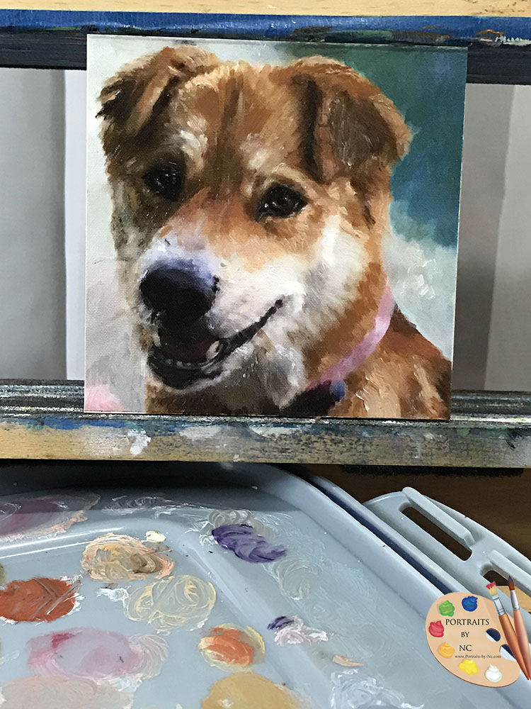 Shiba Inu Painting