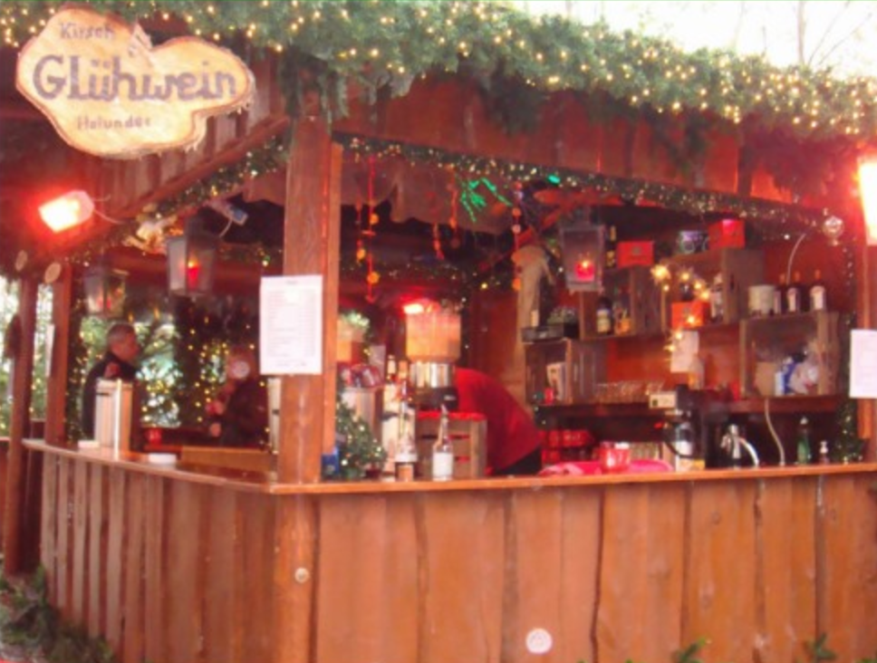 Mulled Wine Booth Postcard
