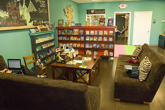 reading habitat - children's book store - st. louis, mo