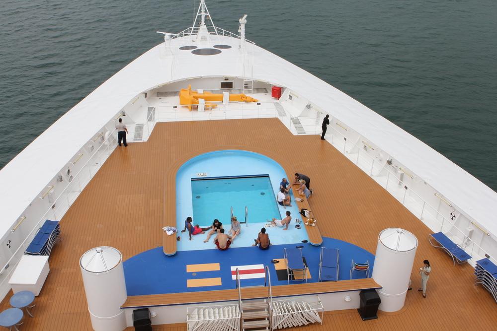The crew's pool