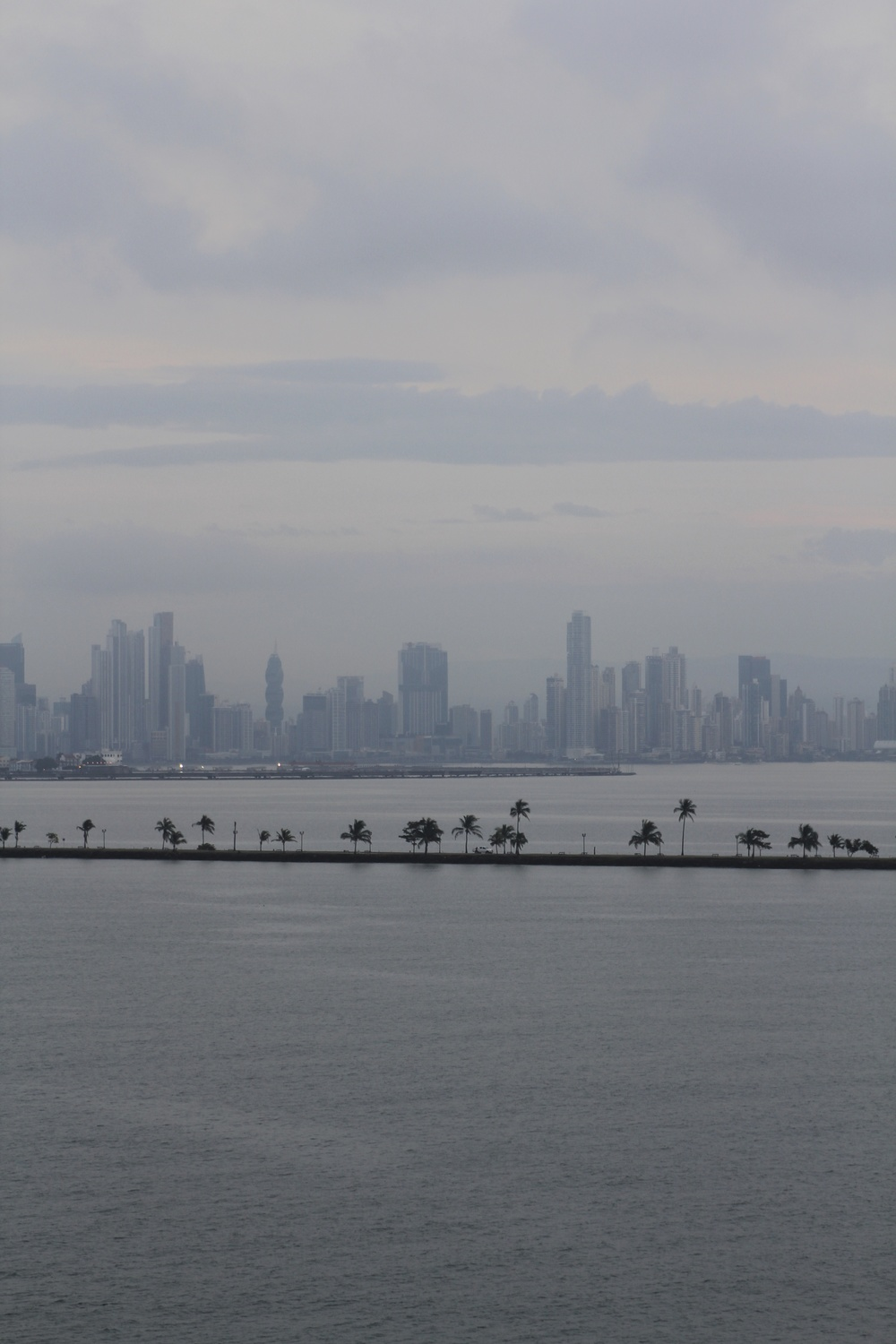 Panama City past the causeway.