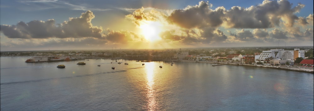 Cozumel Sunrise Panorama
