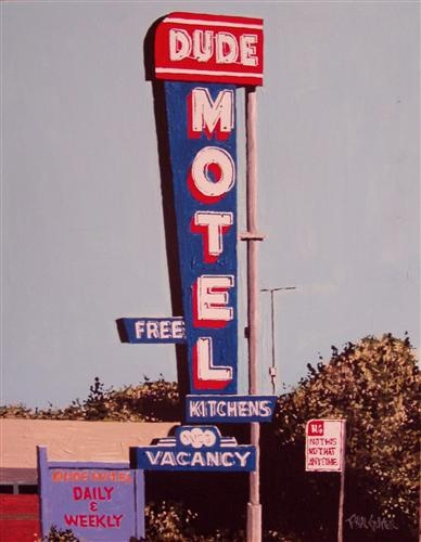 PAUL GUYER The Dude Motel, West Sacramento, 2010