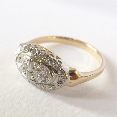 Restored antique ring www.EverlingJewelry.com