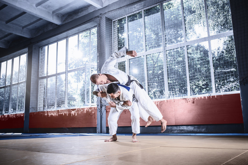 two-judo-fighters-showing-technical-skill-while-PJAUMD3.jpg