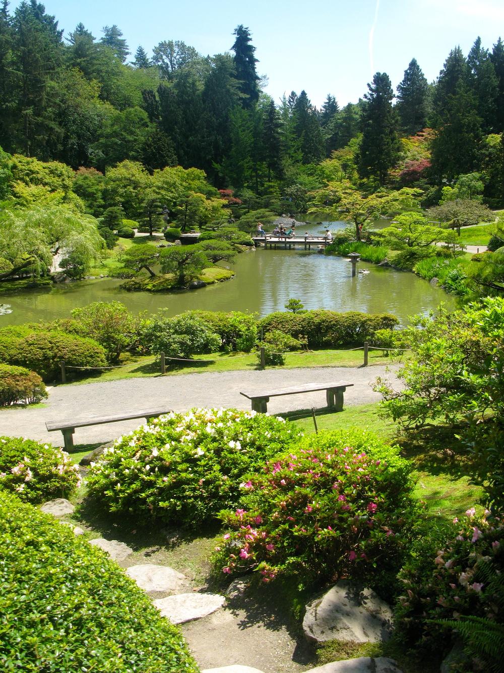 Japanese Gardens near Seattle's Arboretum. Photo by Rebecca Garland.