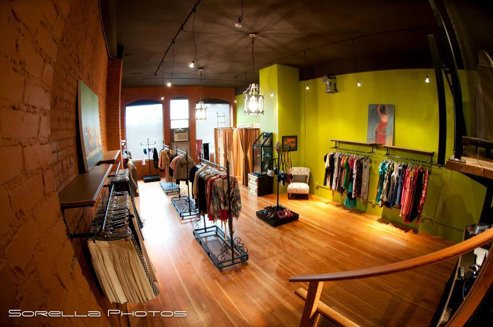 Sell Your Sole Consignment boutique in Belltown.  Photo by Sorella Photos.