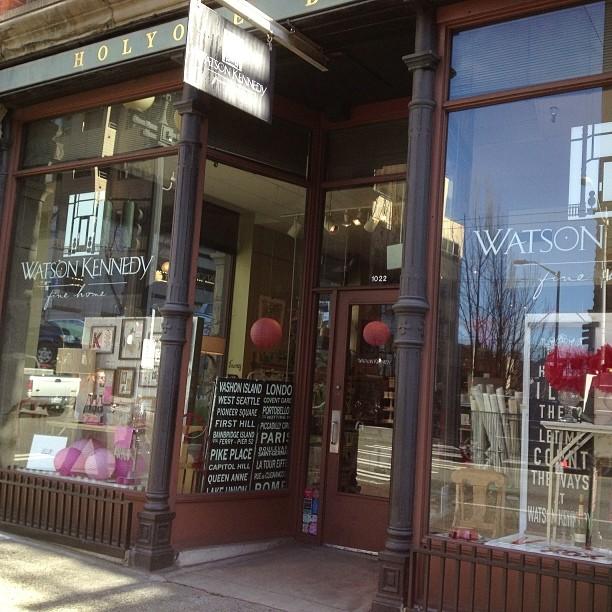 Watson Kennedy storefront on 1st Avenue in Downtown Seattle. Photo by Watson Kennedy.