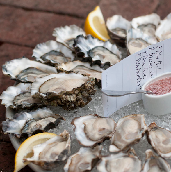 A Seattle specialty: raw oysters.  Photo by The Walrus & The Carpenter.
