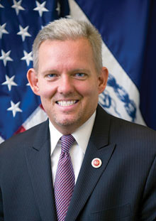 City Councilman Jimmy Van Bramer