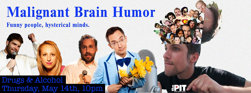 This show is next week! Guests: Jono Zalay, Myka Fox, Lucas Connolly, and Myq Kaplan, (also featuring a deeply buzzed Dominic Fogarty). Get your tickets today! $5 Tickets, ($1 with a student ID)