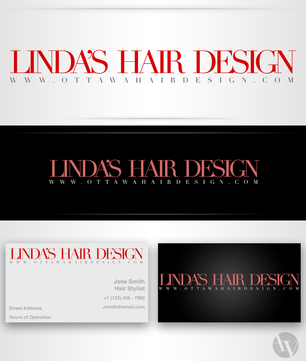 Linda's Hair Design Logo