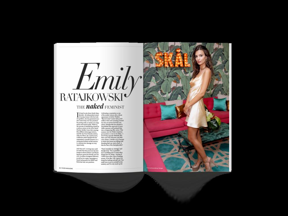 Emily R Interview Spread Design