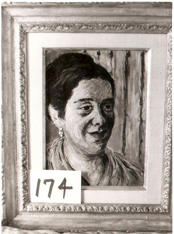 Portrait of Mrs. B